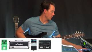Money For Nothing Guitar Tone Tutorial - Dire Straits - Mark Knopfler