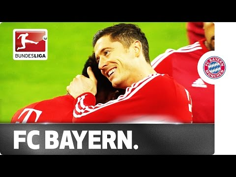 Bayern Hugs: Lewandowski, Müller & Co. Loved Up
