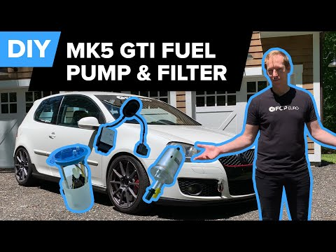 Volkswagen Mk5 GTI Fuel Filter, Fuel Pump, Control Module Replacement DIY (GTI, Rabbit, Golf & More)