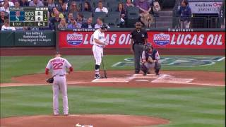 August 03, 2016-Boston Red Sox vs. Seattle Mariners