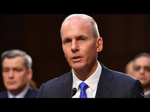 Watch Live: Boeing's CEO Testifies To Senate On 737 MAX Crashes