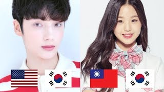 Half Korean K-POP Idols!