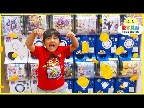 $20 Capsule Machine Surprise Toys Challenge!!!!