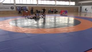 59 кг Османов Мурад (Дагестан) - Пандария Баграт (Москва)