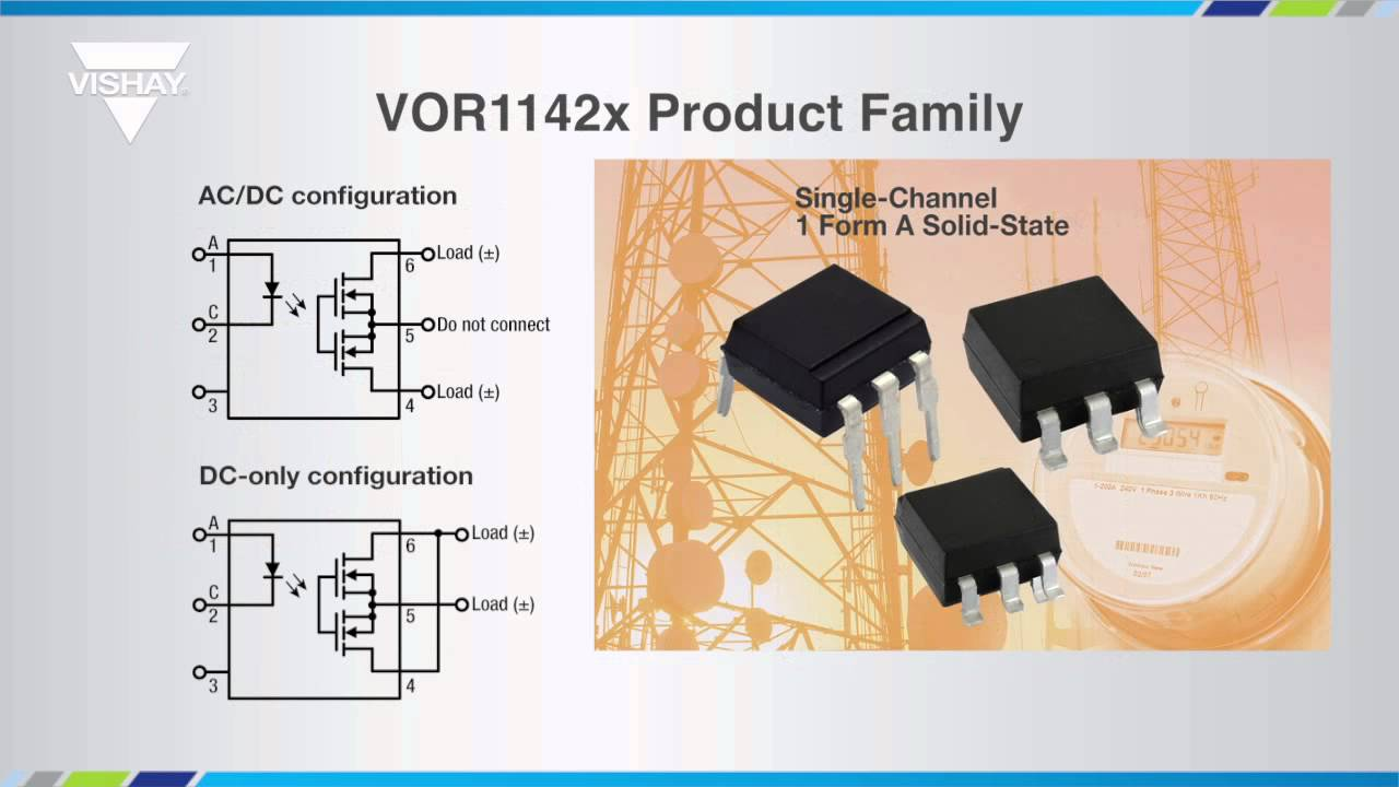 Optoelectronics VORx SolidState Relays YouTube