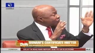 Certificate Controversy: No Fool Would've Believed Buhari's Claim - Akiri Pt.2