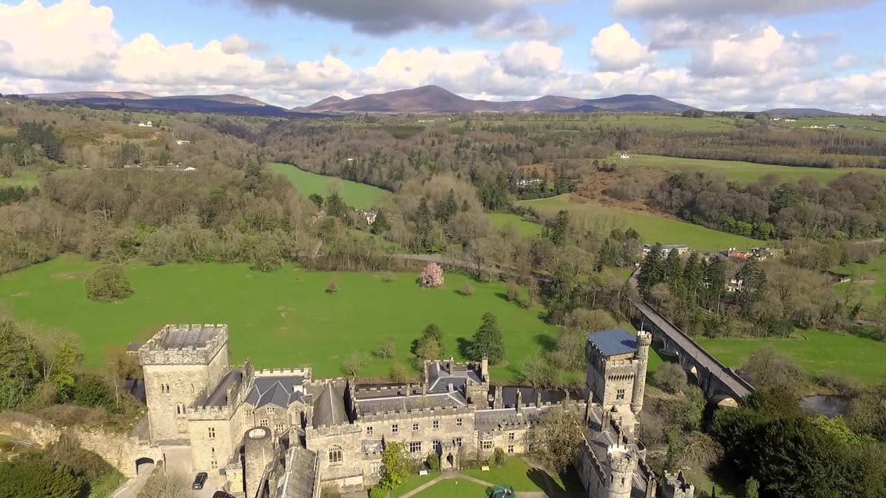 Lismore Castle Waterford Ireland Filmed By A Dji Phantom 3 Advanced Youtube