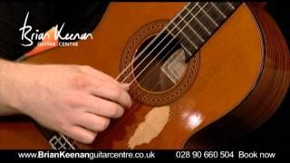 Recuerdos de la Alhambra (Francisco Tarrega) for Classical Guitar performed by Brian Keenan