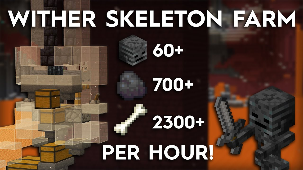 Tutorials/Wither skeleton farming – Official Minecraft Wiki
