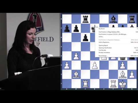 Lecture with WGM Jennifer Shahade (Analyze This!   The English ) - 2014.03.18