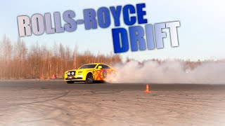 Rolls Royce DRIFT!!! Самый неуклюжий бегемот!