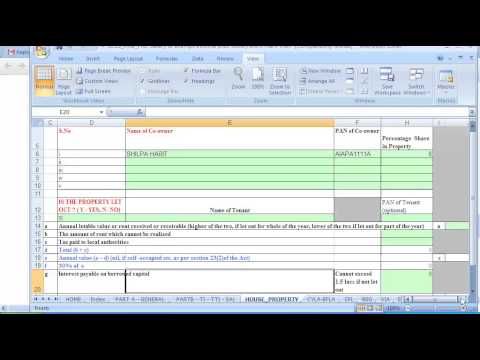 (ITR 2 ) How to Fill Return for person having salary & exempt income( Income tax return filing)
