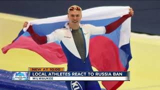 Wisconsin Olympic athletes react to Russian ban