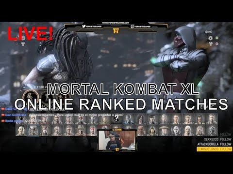 MORTAL KOMBAT XL - Online RAnked Live - T7G | DjOn6 - thumbnail