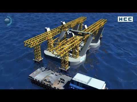Bandra Worli Sea Link - Virtual Tour & Construction Sequence