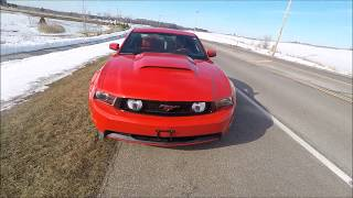 Hard Accelerations and 0-60 In A 2011 Mustang GT 5.0!... GXP Killer?