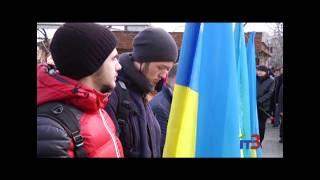 В День Героїв Небесної Сотній в Чорноморську відбувся мітинг пам`яті