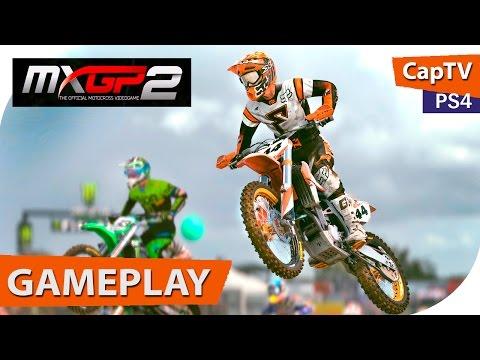 MXGP 2 - Official MotoCross Game - Новый Мотокросс 2016 - Геймплей дэмо - Gameplay demo PS4