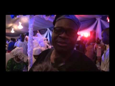 CEO SAF Petroleum Alh. (Aare) Safiriyu Kazeem Adebanjo's Daughter Exchange Wedding Vows