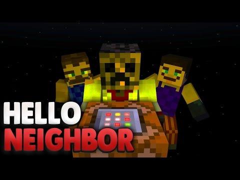 Fliegt die Tarnung auf ?! 😫 | Minecraft Hello Neighbor