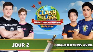 🔴Qualifications World Championships   Phases de groupes   Jour 2   Clash Of Clans
