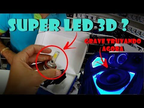 SUPER LED 3D EXISTE ? REGULEI O GRAVE DO MEU SOM