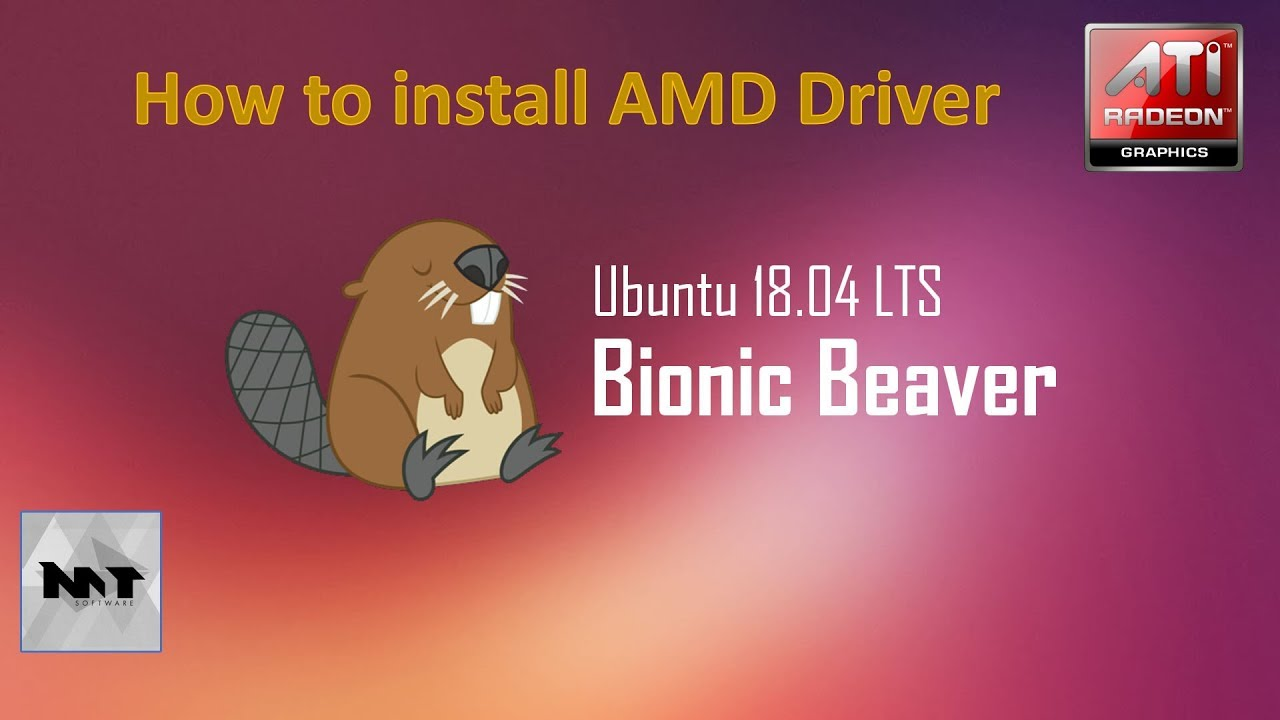 How to install AMD Driver on Ubuntu 18 04