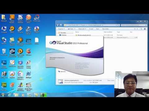 การโปรแกรมวิชวล Visual Basic 2010 ตอนที่ 2/2