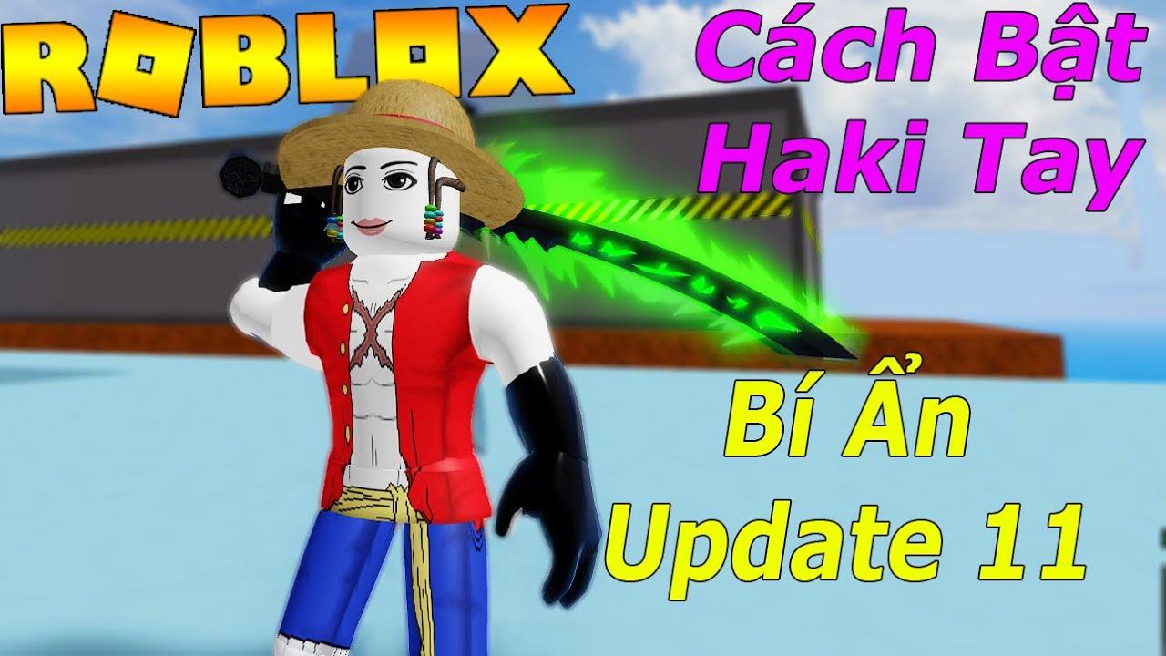 Roblox - Cách Bật Haki Tay Và Khám Phá Bí Ẩn Update 11