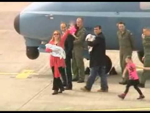 Irish Air Corps CASA CN-235 Air Ambulance Brings Cork Twins Home