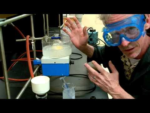Bromination of trans stilbene. Greener Method.