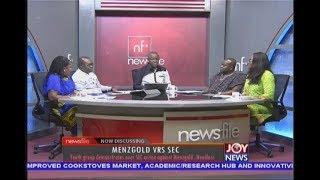 Menzgold Vrs SEC - Newsfile on JoyNews (15-9-18)