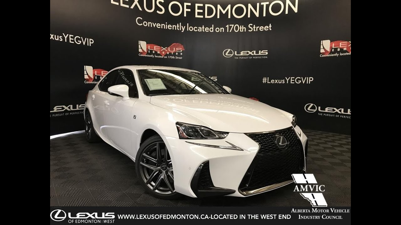 2019 Lexus Is 350 F Sport White