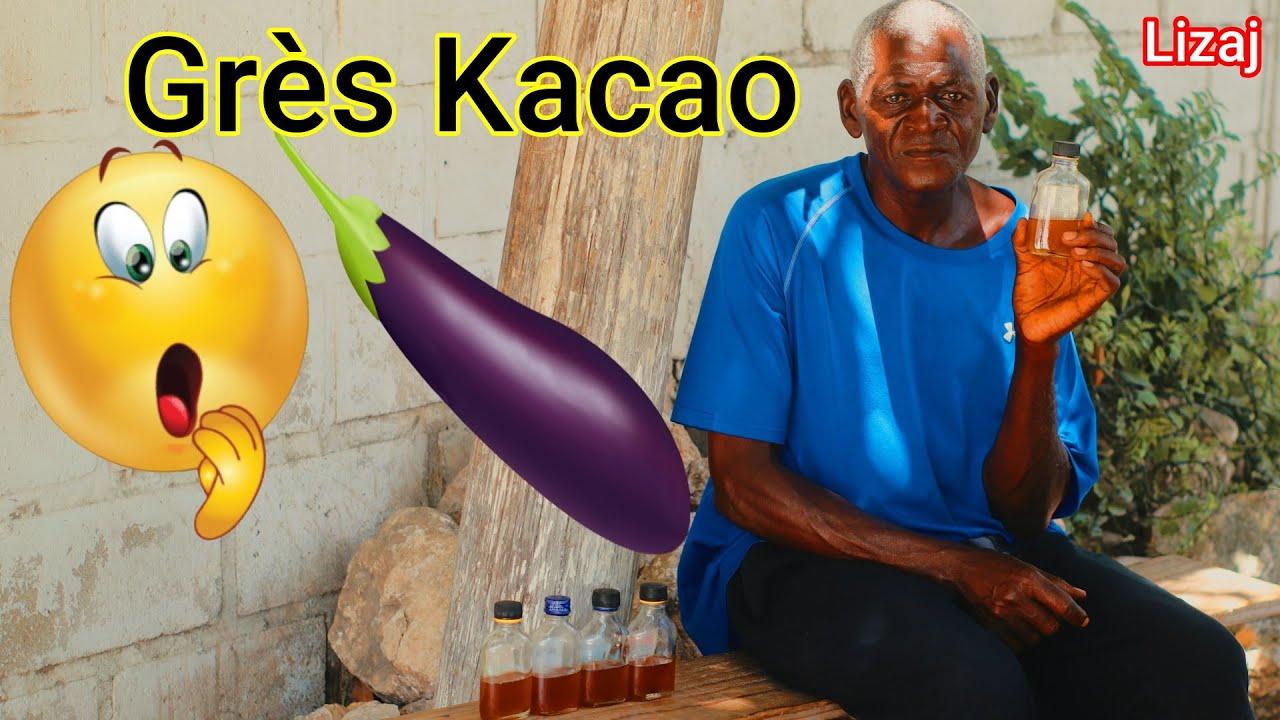Yon Machann Grès Kacao, Lwil Koulèv delivré tout Jèn gason. Vin Gade
