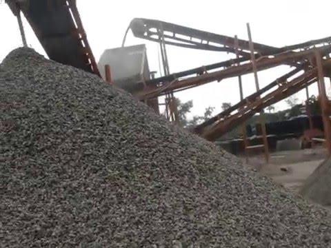 Stone Crusher Plant 90-120 T/h, Jaw Crusher And Cone Crusher