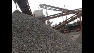 stone crusher plant 90 120 t h jaw crusher and cone crusher