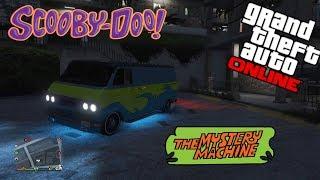 *SCOOBY DOO* THE MYSTERY MACHINE!! GTA 5 ONLINE ITA