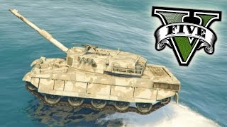 SUPER TANQUE INCREIBLE ACUATICO!! - GTA V PC MODS