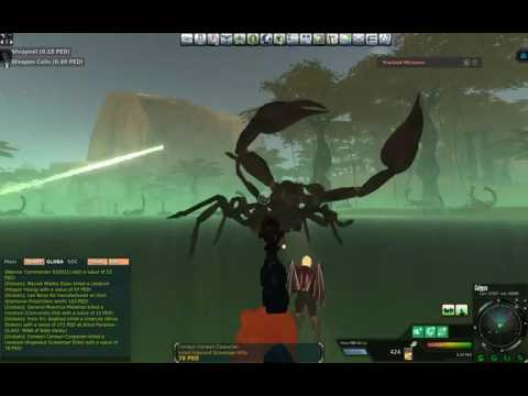 Entropia Universe Shared Loot RexTelum & BOSS SAD KING