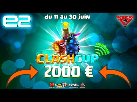 Clash of Clans | QUI GAGNE LES 2000€ EN DIRECT ? TOURNOI eSPORT Clash Cup