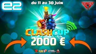 Clash of Clans | QUI GAGNE LES 2000€ EN DIRECT ? TOURNOI eSPORT Clash Cup