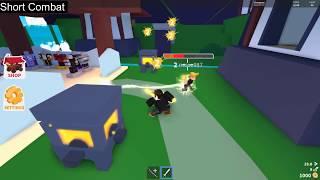Roblox Ninja Wizard Simulator Element Showcase ~ Wind, Thunder and Void