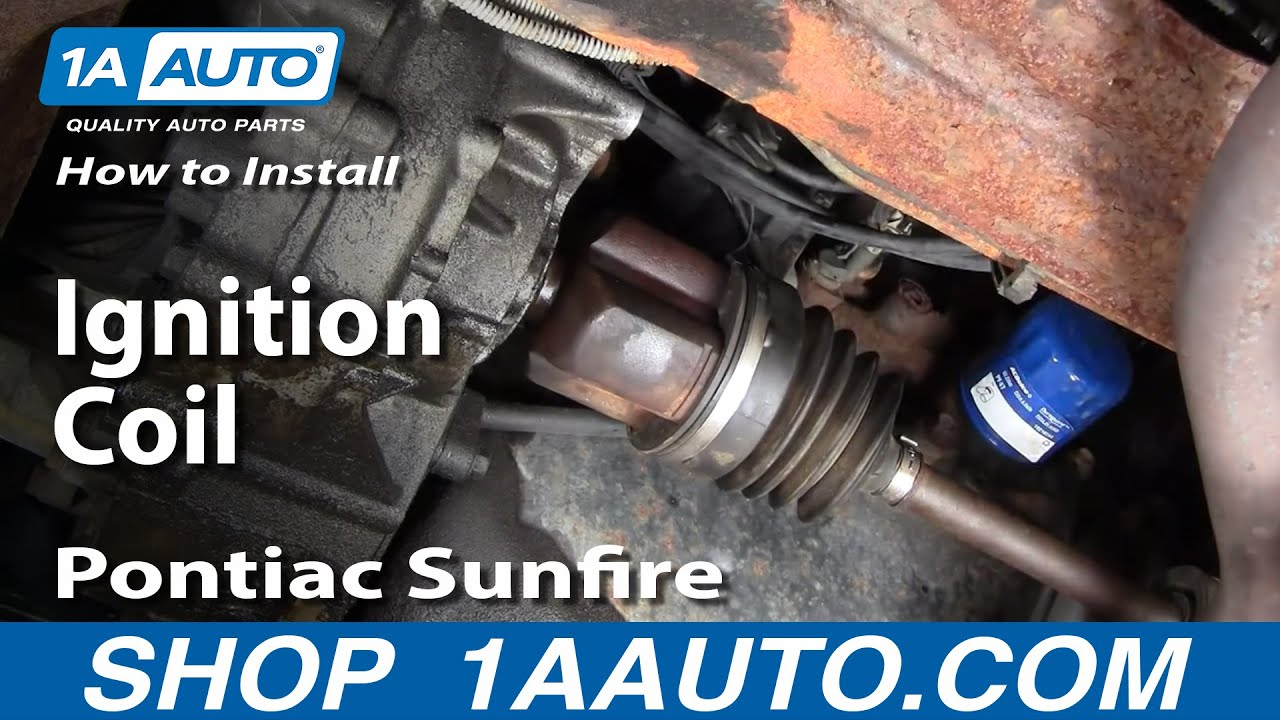 hight resolution of how to replace ignition coil 95 02 pontiac sunfire