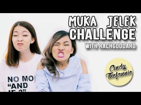 MUKA JELEK CHALLENGE ft. Rachel Goddard