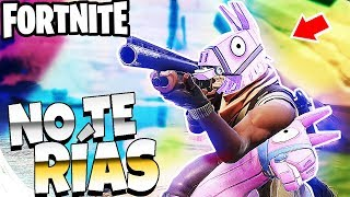 INTENTA NO REIRTE O PIERDE - FORTNITE