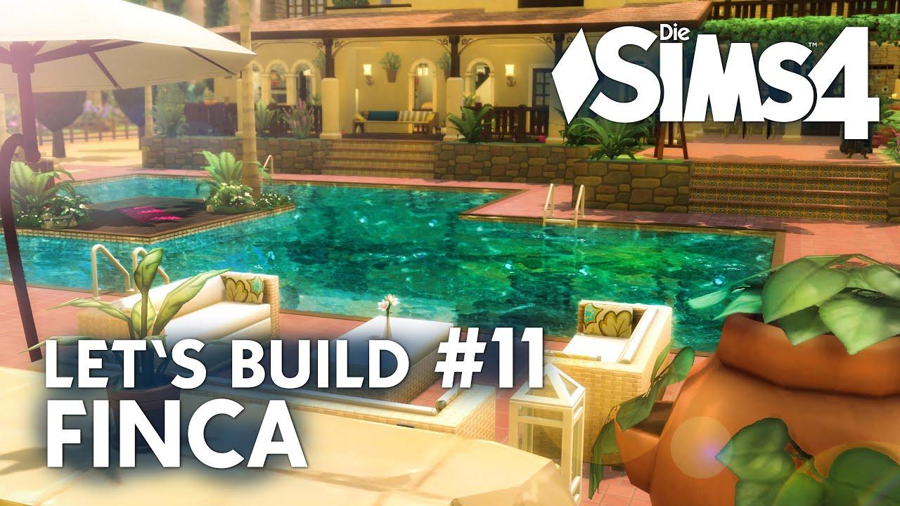 Kinderzimmer & Pool bauen - Die Sims 4 Let\'s Build #11 Finca ...