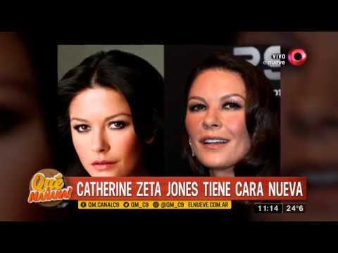 Catherine Zeta Jones tiene cara nueva