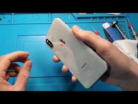 Iphone X Camera Glass replaceing / Замена стекла камеры