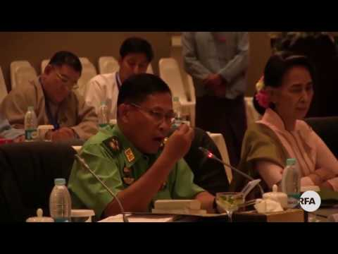 Daw Aung San Suu Kyi Attends NCA Implementation Meeting