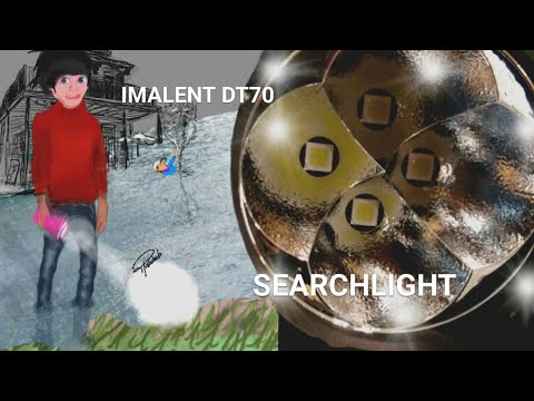 World's Most (Insanely) Powerful Flashlights: Imalent DT70